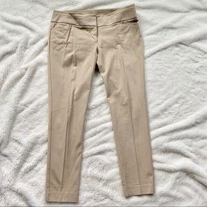 LIKE NEW LOFT Khaki Marisa Skinny Ankle Pants, S10